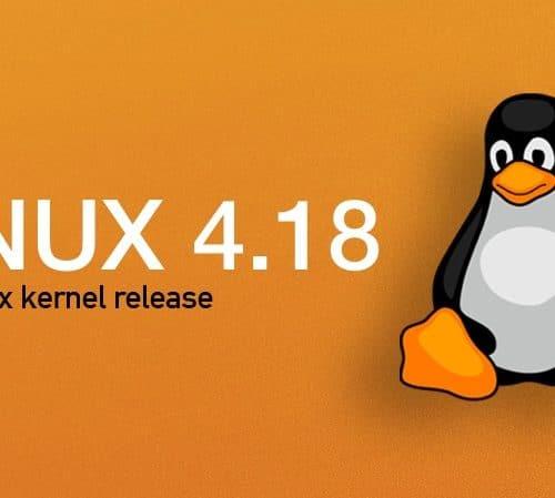 Noyau Linux 4.18 : Code allégé avec plus de sécurité
