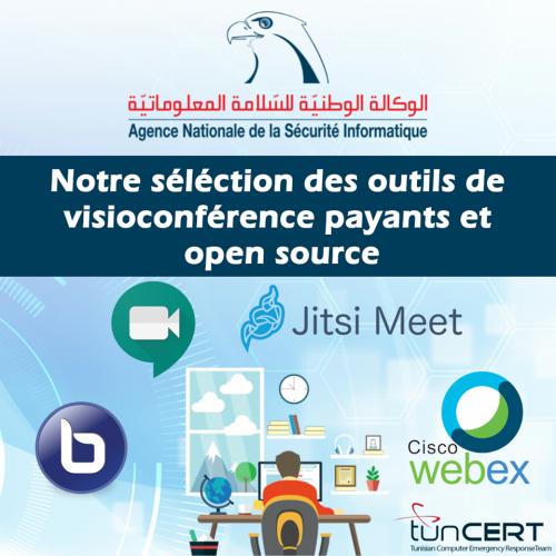 Guide de l'Agence Nationale de la Sécurité Informatique (ANSI – tunCERT) des outils de visioconférence