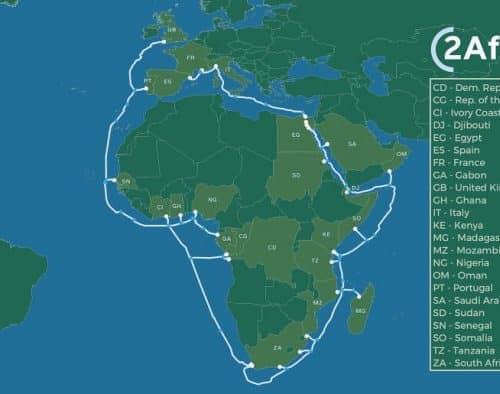 2Africa : un câble sous-marin de 37 000 Km pour un meilleur Internet en Afrique