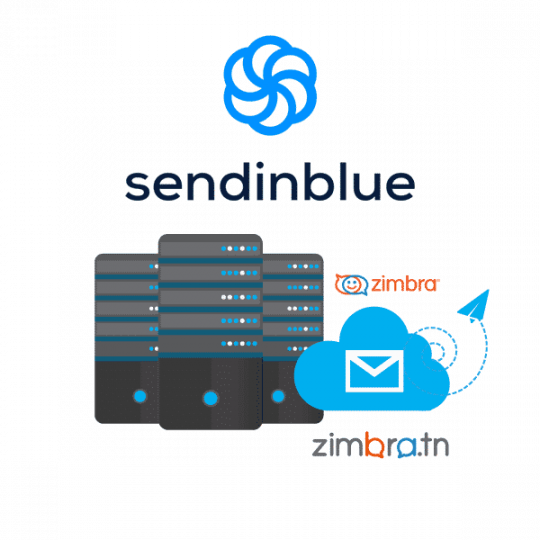 Messagerie Pro Zimbra & SendinBlue